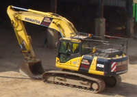 Komatsu Excavator - available for hire